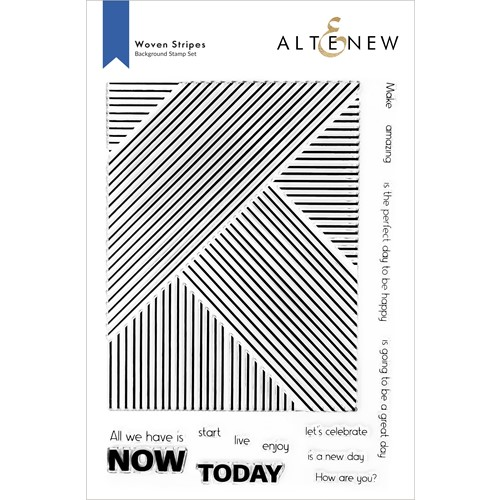 Altenew WOVEN STRIPES Clear Stamps ALT6324 Preview Image
