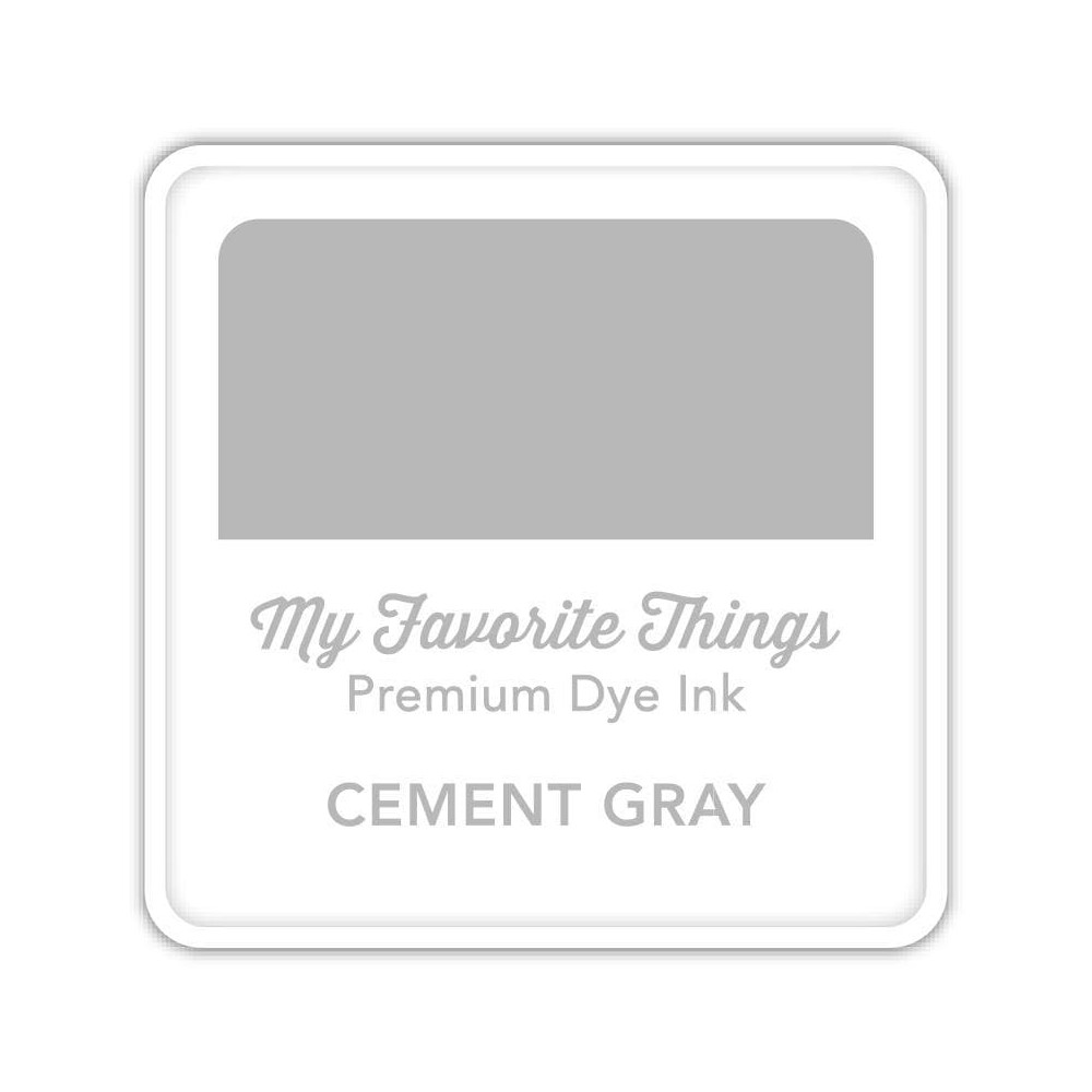 My Favorite Things CEMENT GRAY Premium Dye Ink Cube icube145 zoom image