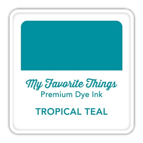 My Favorite Things TROPICAL TEAL Premium Dye Ink Cube icube126 Preview Image