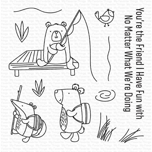 My Favorite Things OUTDOOR ADVENTURES Clear Stamps cs589 Preview Image