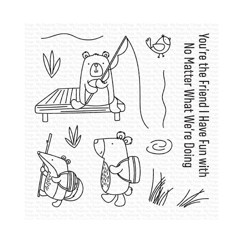 My Favorite Things OUTDOOR ADVENTURES Clear Stamps cs589 zoom image