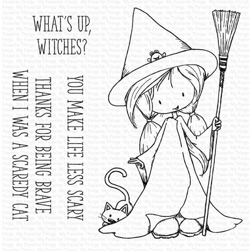 My Favorite Things SWEET LITTLE SPELL Clear Stamps ti009 Preview Image