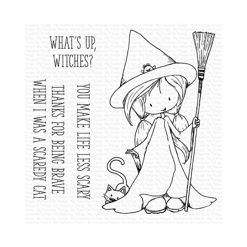 My Favorite Things SWEET LITTLE SPELL Clear Stamps ti009 zoom image
