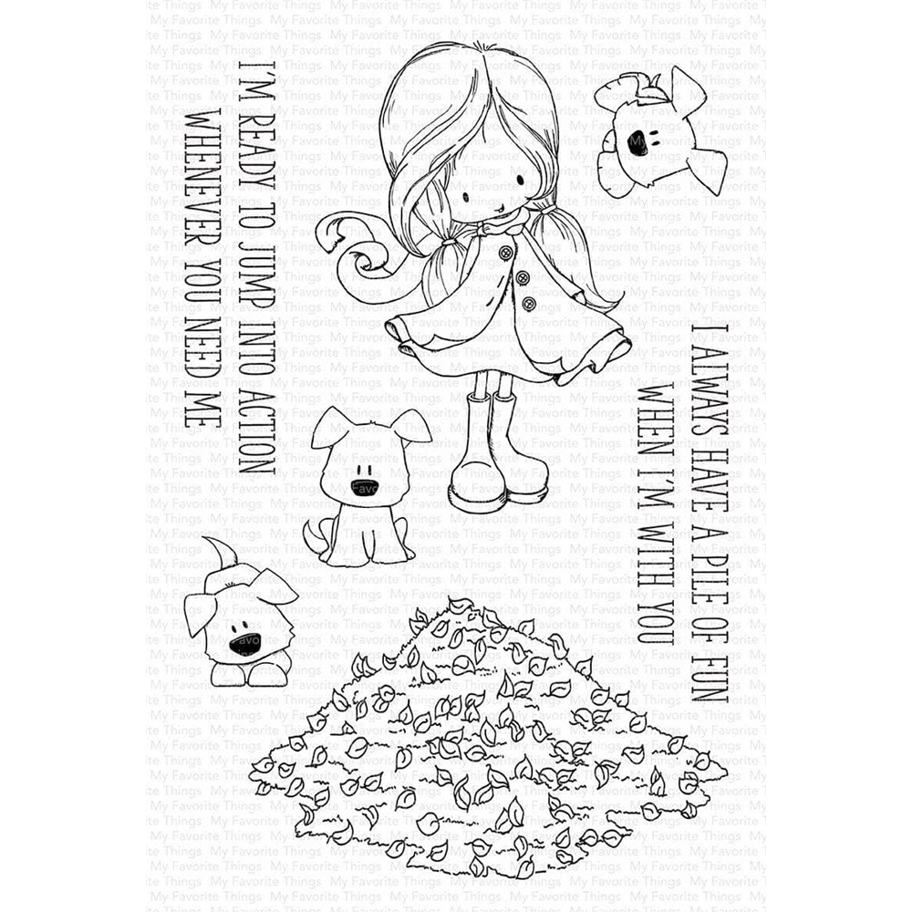 My Favorite Things PILE OF FUN Clear Stamps ti008 zoom image