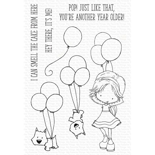 My Favorite Things SMELL THE CAKE Clear Stamps ti005 Preview Image