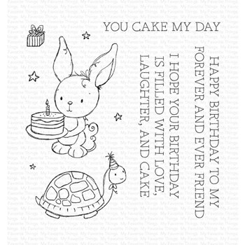 My Favorite Things YOU CAKE MY DAY Clear Stamps ram019