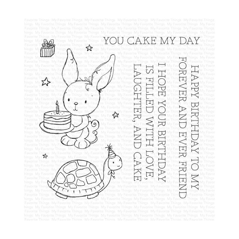 My Favorite Things YOU CAKE MY DAY Clear Stamps ram019 zoom image