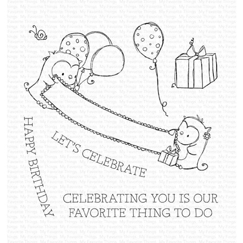 My Favorite Things CELEBRATING YOU Clear Stamps ram021 Preview Image
