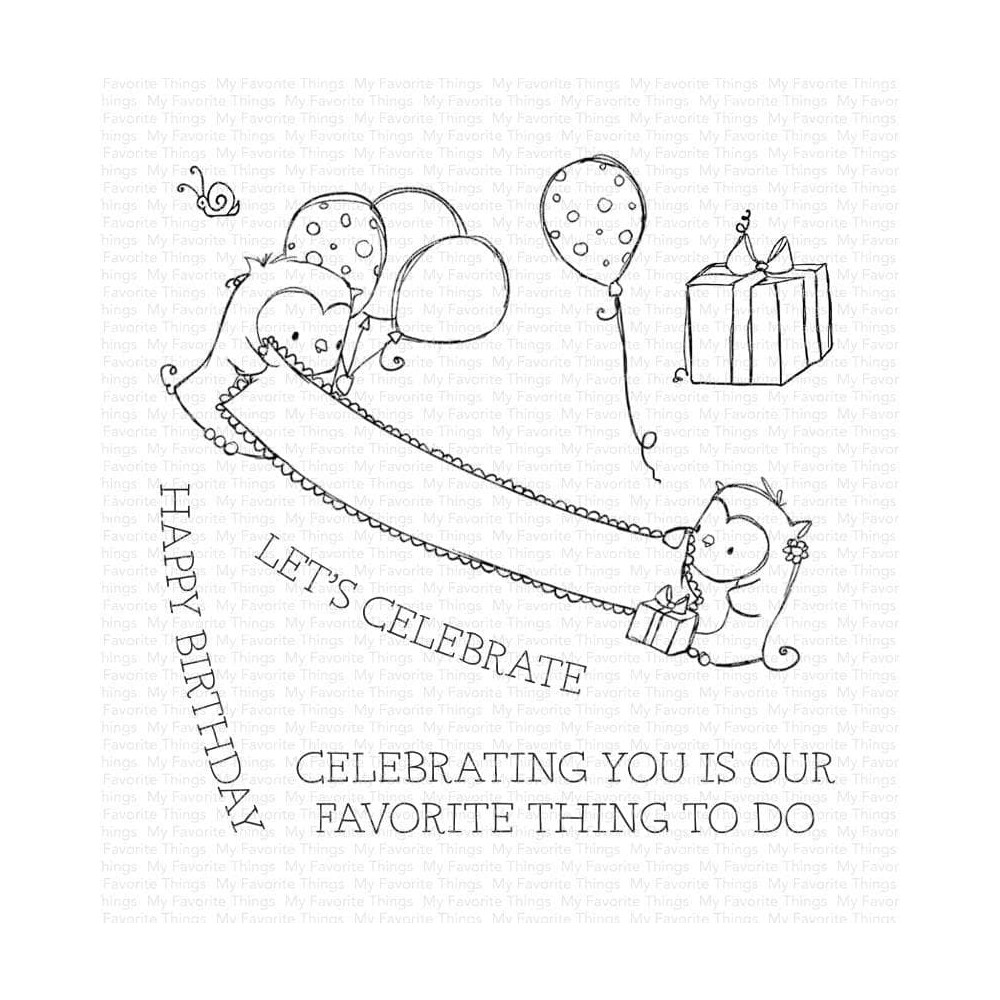 My Favorite Things CELEBRATING YOU Clear Stamps ram021 zoom image