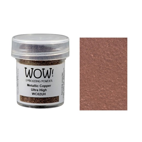 WOW Embossing Powder METALLIC COPPER ULTRA HIGH WC02UH Preview Image