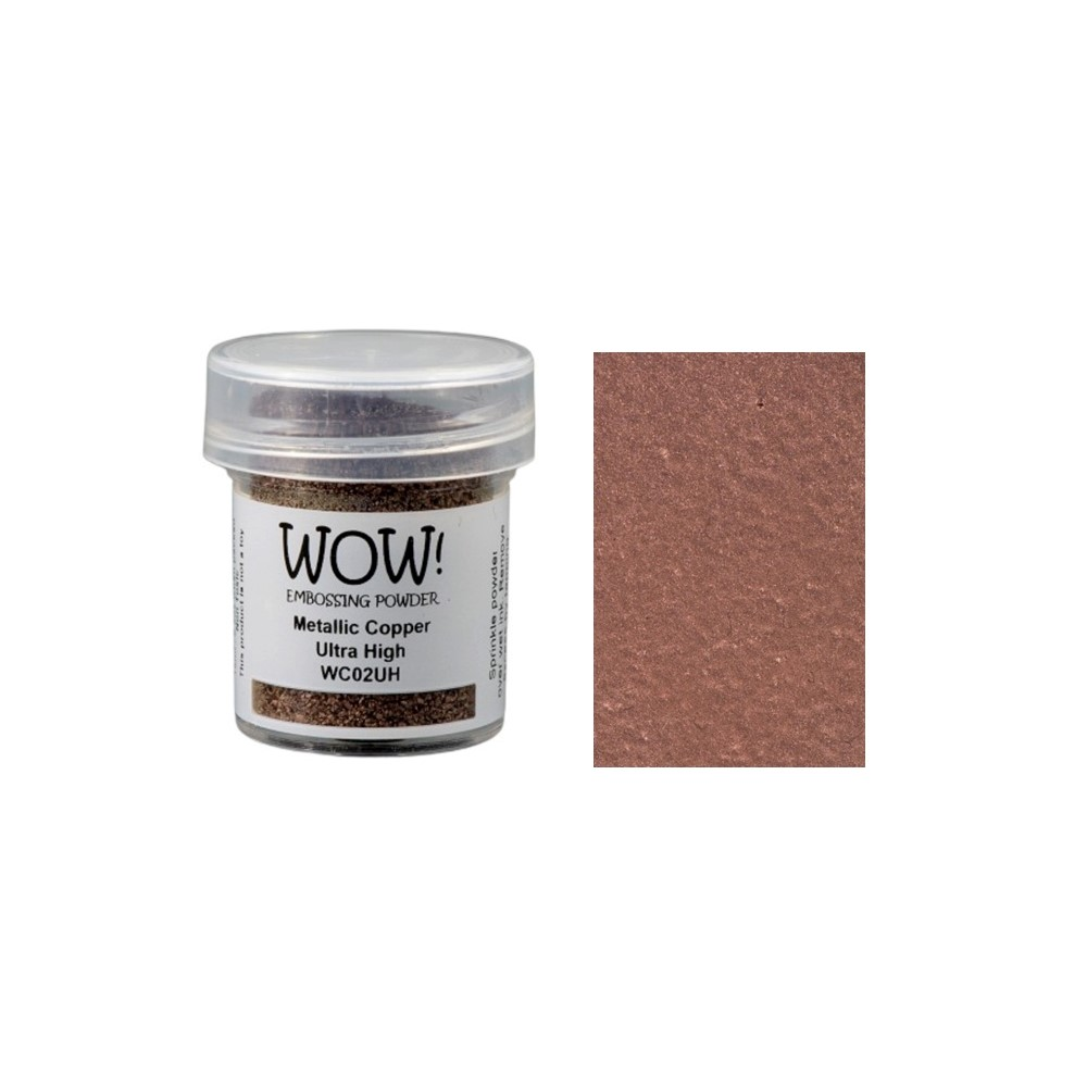 WOW Embossing Powder METALLIC COPPER ULTRA HIGH WC02UH zoom image