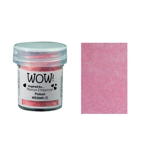 WOW Embossing Glitter PINKISH WS304R Preview Image