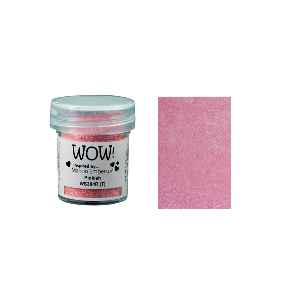WOW Embossing Glitter PINKISH WS304R zoom image