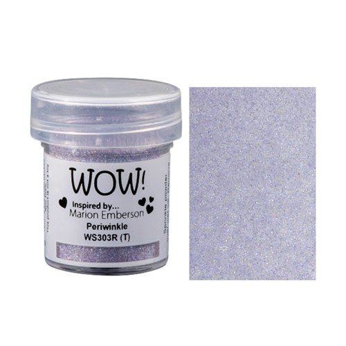 WOW Embossing Glitter PERIWINKLE WS303R Preview Image