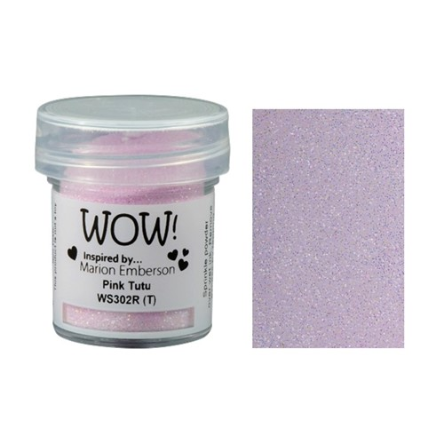WOW Embossing Glitter PINK TUTU WS302R Preview Image