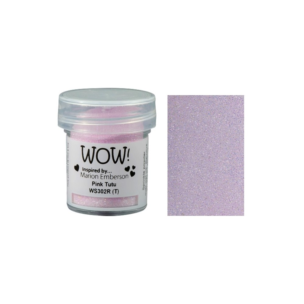 WOW Embossing Glitter PINK TUTU WS302R zoom image