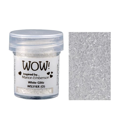 WOW Embossing Glitter WHITE GLITZ WS316X Preview Image