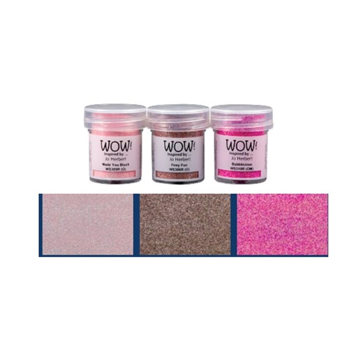 WOW Embossing Trios PINK A LICIOUS WOWKT045 Preview Image