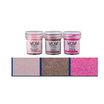 WOW Embossing Trios PINK A LICIOUS WOWKT045