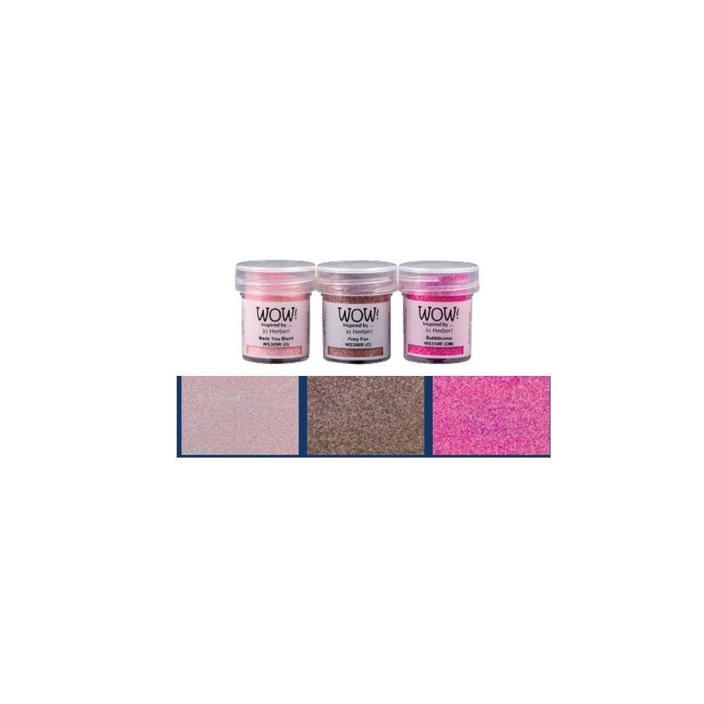 WOW Embossing Trios PINK A LICIOUS WOWKT045 zoom image