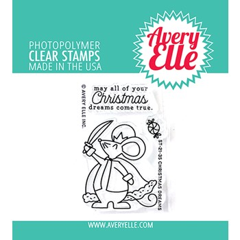 Avery Elle Clear Stamps CHRISTMAS DREAMS ST-21-35