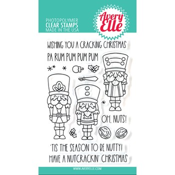 Avery Elle Clear Stamps NUTCRACKERS ST-21-34