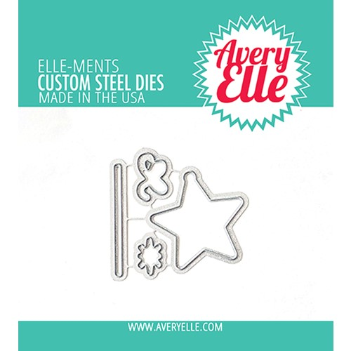 Avery Elle Steel Dies LAYERED STARS D-21-32 Preview Image