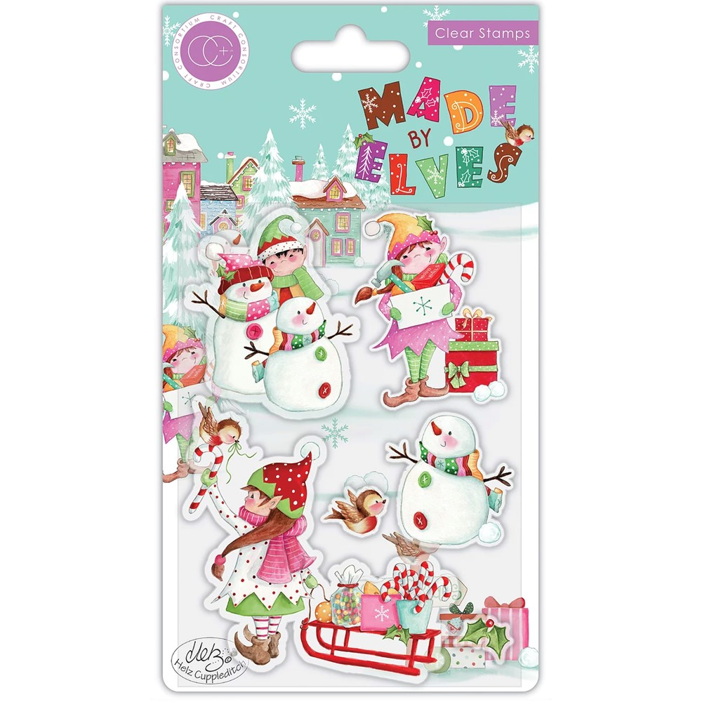 Craft Consortium MADE BY ELVES CANDY Clear Stamps CCSTMP071 zoom image