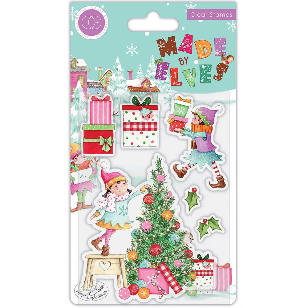 Craft Consortium MADE BY ELVES TREE Clear Stamps CCSTMP069 zoom image