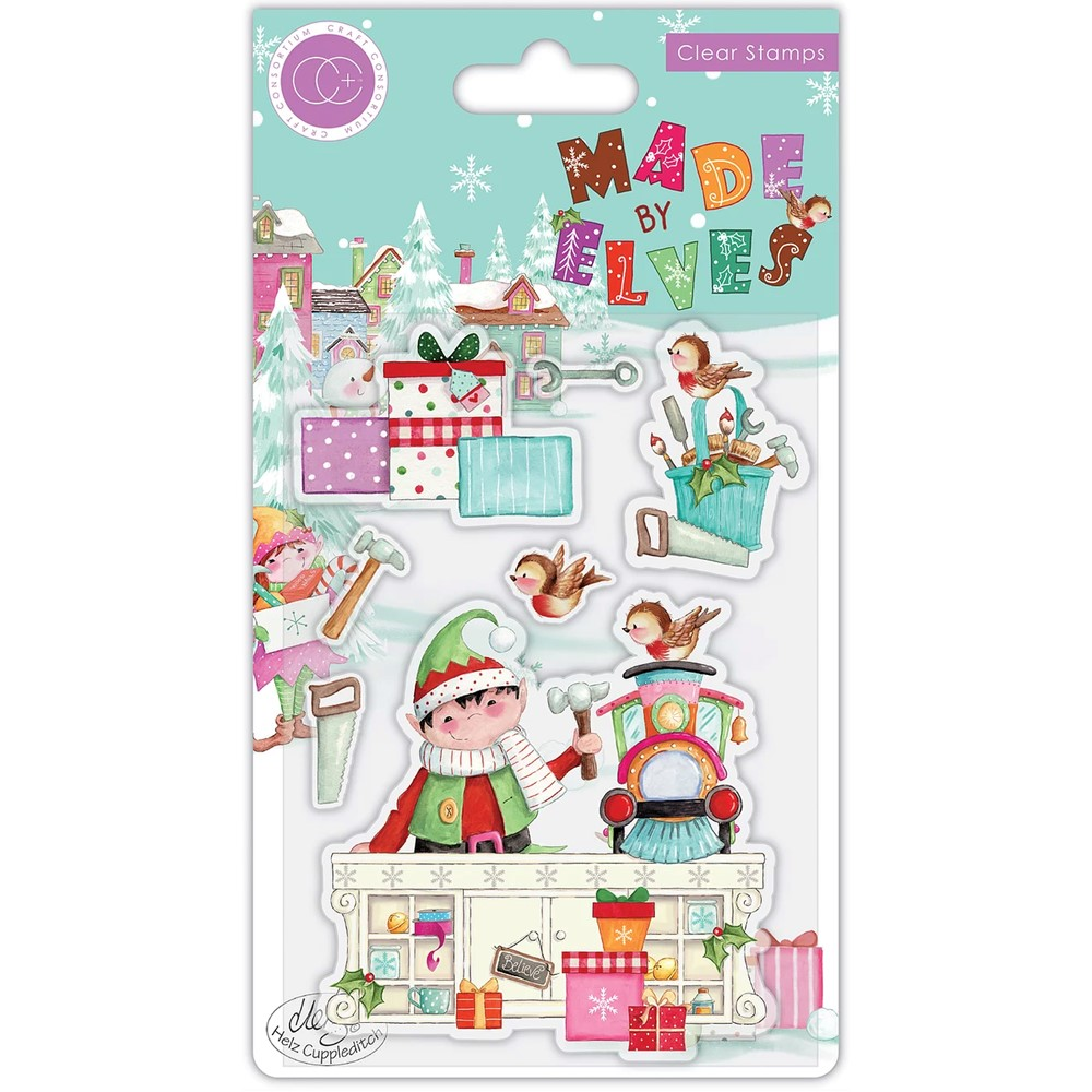 Craft Consortium MADE BY ELVES WORKSHOP Clear Stamps CCSTMP068 zoom image