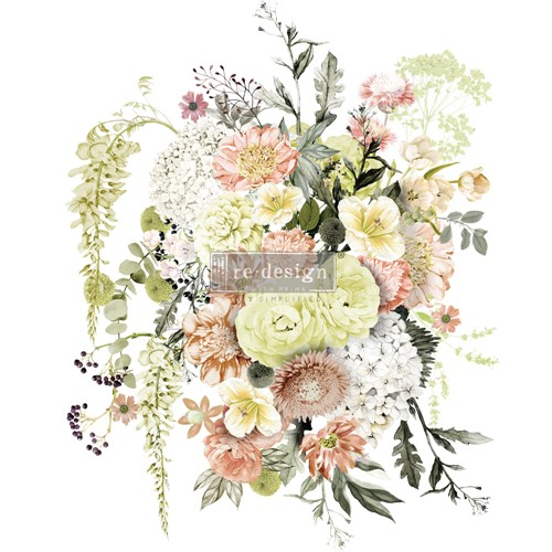 Prima Marketing LIFE IN FULL BLOOM ReDesign Decor Transfers 652012 Preview Image