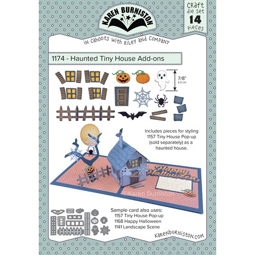 Karen Burniston HAUNTED TINY HOUSE ADD ONS Dies 1174 Preview Image