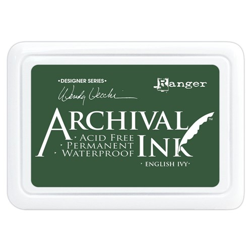 Ranger Wendy Vecchi Archival ENGLISH IVY Ink Pad aid73970 Preview Image