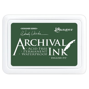 Ranger Wendy Vecchi Archival ENGLISH IVY Ink Pad aid73970