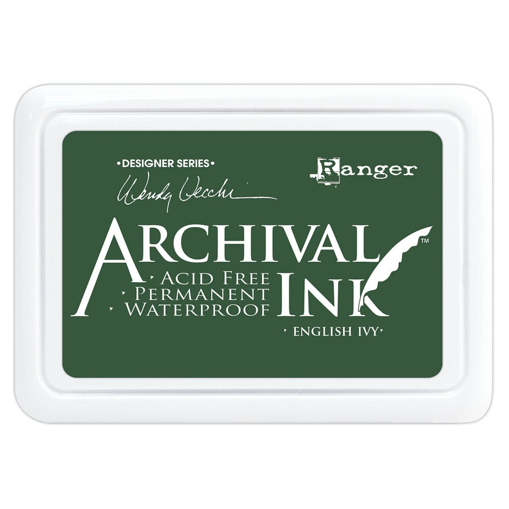 Ranger Wendy Vecchi Archival ENGLISH IVY Ink Pad aid73970 zoom image