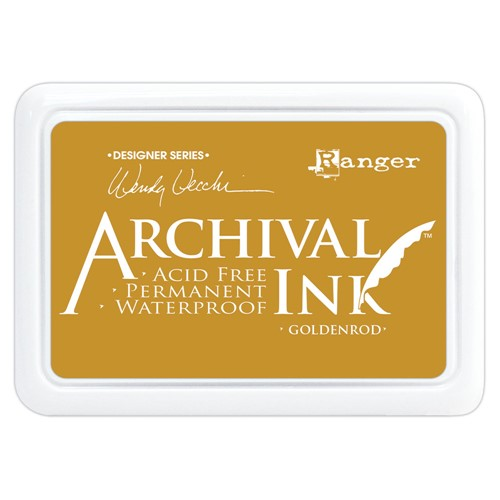 Ranger Wendy Vecchi Archival GOLDENROD Ink Pad aid73987 Preview Image