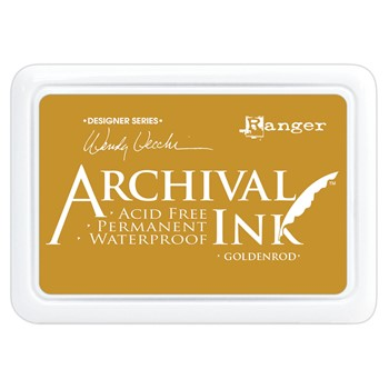 Ranger Wendy Vecchi Archival GOLDENROD Ink Pad aid73987
