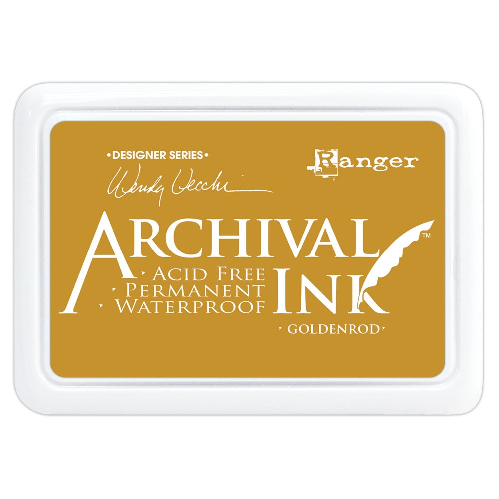 Ranger Wendy Vecchi Archival GOLDENROD Ink Pad aid73987 zoom image