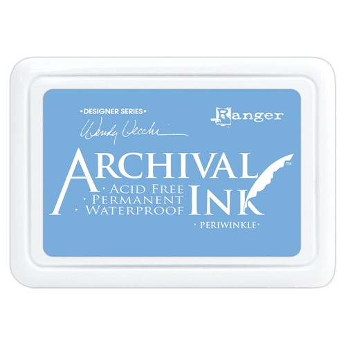 Ranger Wendy Vecchi Archival PERIWINKLE Ink Pad aid74014 Preview Image