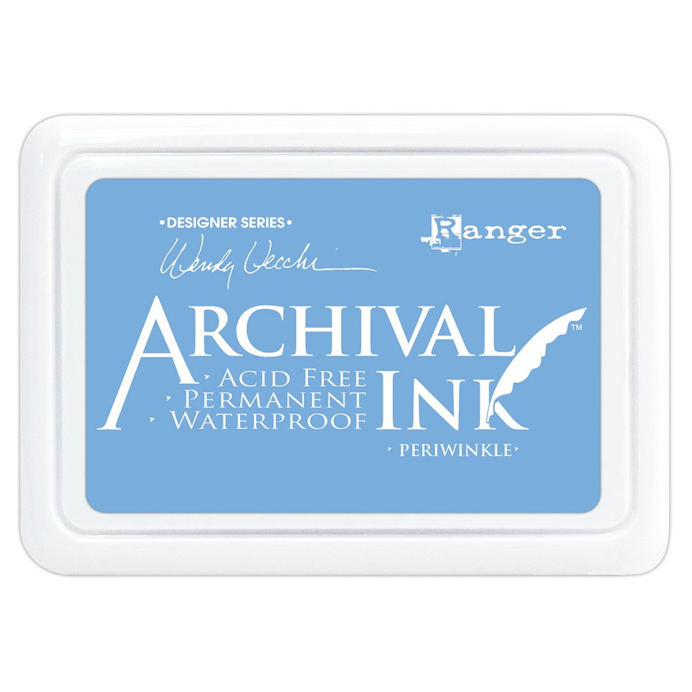 Ranger Wendy Vecchi Archival PERIWINKLE Ink Pad aid74014 zoom image