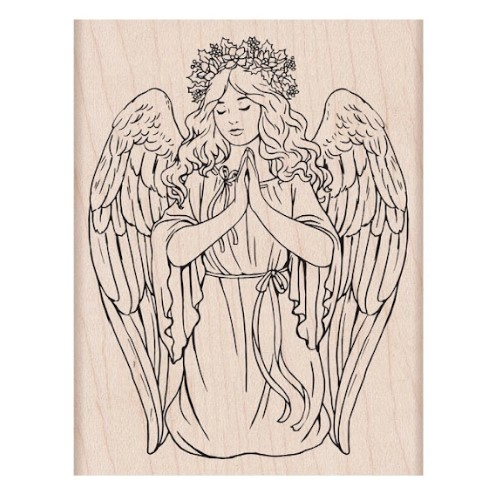 Hero Arts Rubber Stamp CHRISTMAS ANGEL K6469 Preview Image