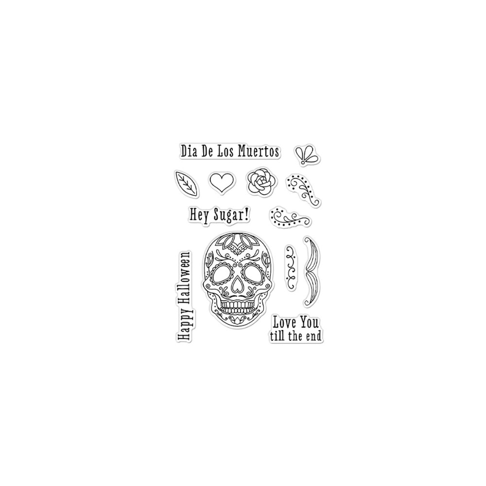 Hero Arts Clear Stamps HALLOWEEN ICONS CM519 zoom image