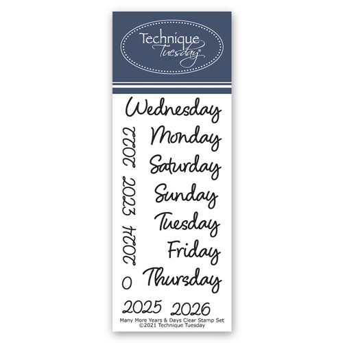 Technique Tuesday MANY MORE YEARS AND DAYS Crafting Die Set mmyad Preview Image
