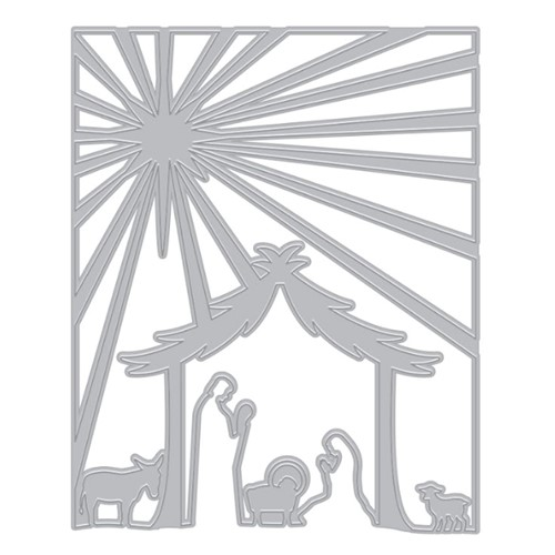 Hero Arts Fancy Die NATIVITY Cover Plate DI930 Preview Image
