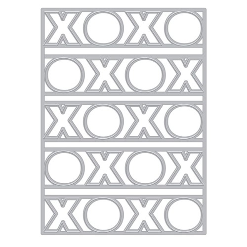 Hero Arts Fancy Die XOXO Cover Plate DI914 Preview Image
