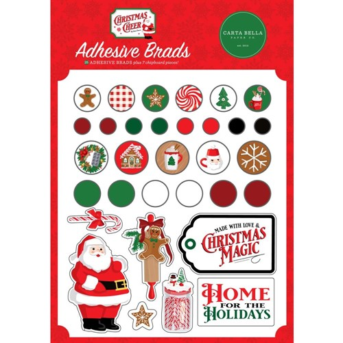 Carta Bella CHRISTMAS CHEER Brads cbchr141020 Preview Image