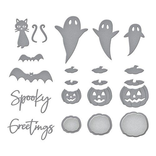 S4-1139 Spellbinders OPEN HOUSE BOO Etched Dies Preview Image