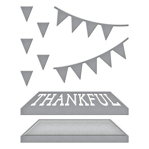 S2-322 Spellbinders OPEN HOUSE THANKFUL Etched Dies Preview Image