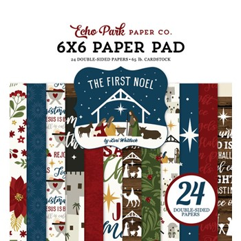 Echo Park THE FIRST NOEL 6 x 6 Paper Pad tfn256023