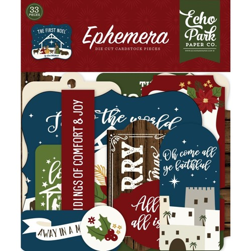 Echo Park THE FIRST NOEL Ephemera tfn256024 Preview Image